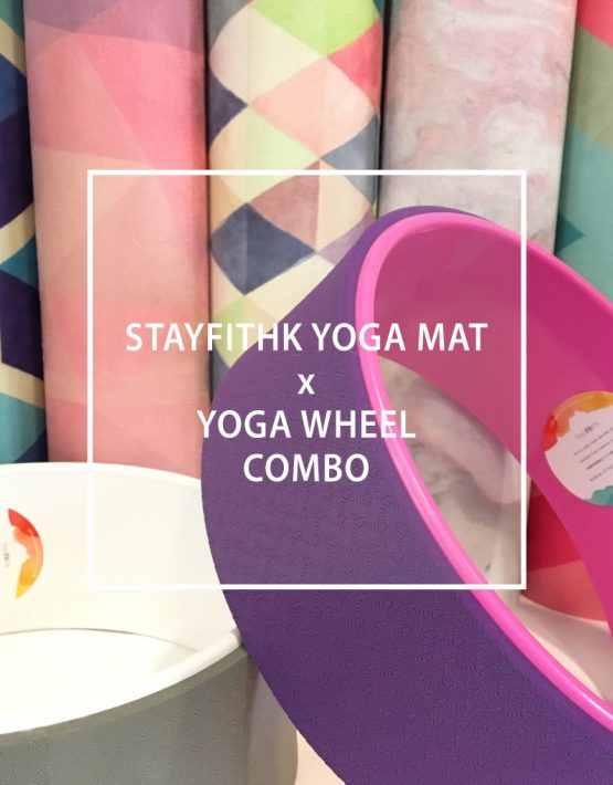 Yoga Mat & Wheel Combo 瑜伽墊 瑜伽輪