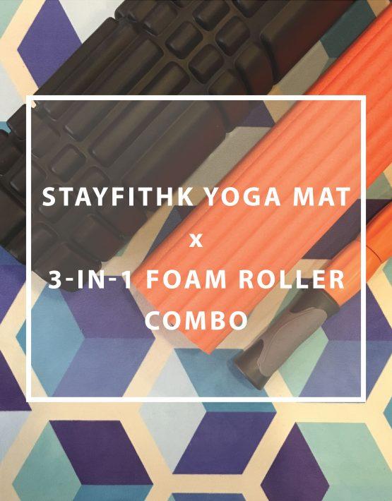 Yoga Mat x Foam Roller Combo 瑜珈墊 按摩滾輪